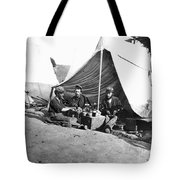 Civil War: Union Soldiers Tote Bag
