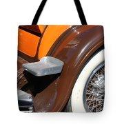 Classic Antique Car- Detail Tote Bag
