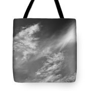 Cloud Imagery Tote Bag