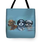 3 Dog Night Tote Bag