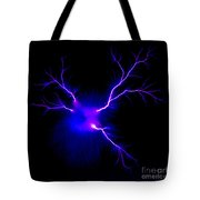 Electric Spark Tote Bag