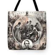 Emancipation Proclamation Tote Bag