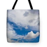 English Summer Sky Tote Bag