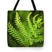 Fern Leaf Tote Bag