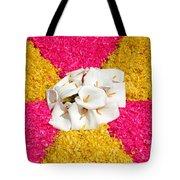 Flower Carpet Tote Bag