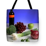 Foods Rich In Quercetin Tote Bag
