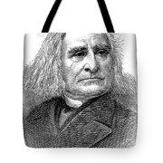 Franz Liszt (1811-1886) Tote Bag