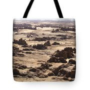 Giant Sandstone Outcroppings Deep Tote Bag