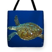 Hawksbill Sea Turtle, Kimbe Bay, Papua Tote Bag