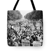March On Washington. 1963 Tote Bag by Granger