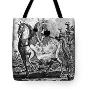 Marquise De Pompadour Tote Bag