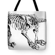 Megatherium, Extinct Ground Sloth Tote Bag