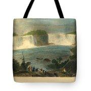 Niagara Falls, 1837 Tote Bag