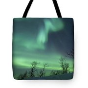 Northern Lights In The Arctic Tote Bag