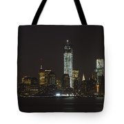 Nyc Harbor View Tote Bag