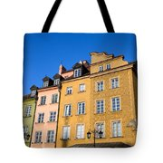 Old Town In Warsaw Tote Bag
