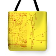 Omega-minus Particle, First Observation Tote Bag