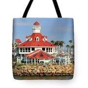 Parker's Lighthouse Restaurant Tote Bag