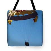 3 People Para-sailing Pachmarhi Tote Bag
