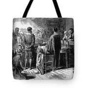 Pilgrims: Thanksgiving, 1621 Tote Bag