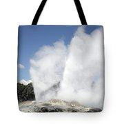 Pohutu And Prince Of Wales Feathers Tote Bag