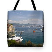 Portofino In The Italian Riviera In Liguria Italy Tote Bag
