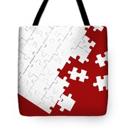 Puzzle Tote Bag by Joana Kruse