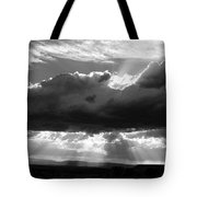 Rain Sun Rays Tote Bag