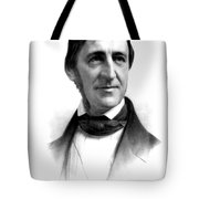 Ralph Waldo Emerson, American Author Tote Bag