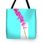 Red Orchid Bunch Tote Bag