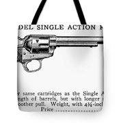 Revolver, 19th Century Tote Bag