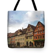Rothenburg Medieval Old Town  Tote Bag