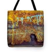 Rust Colors Tote Bag