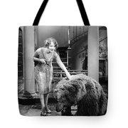 Silent Film Still: Animal Tote Bag