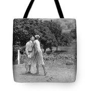 Silent Film Still: Golf Tote Bag