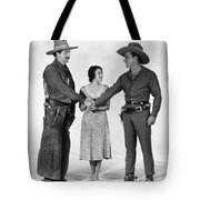 Silent Film Still: Western Tote Bag