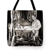 Silent Still: Bedroom Tote Bag