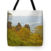 3 Sisters Blue Mountains Tote Bag