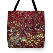 Stoneface At Hossa With Stone Age Paintings Tote Bag