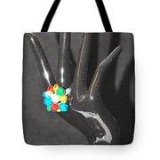 The Black Hand Tote Bag