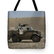 The German Army Atf Dingo Armored Tote Bag