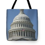 The United States Capitol Building Dome Tote Bag