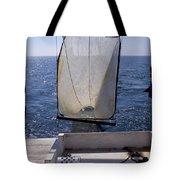 Trawling For Marine Life Tote Bag