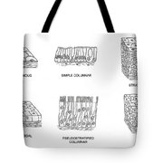 Types Of Epithelial Cells Tote Bag