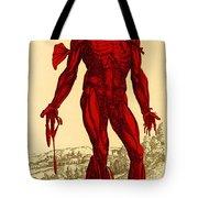Vesalius De Humani Corporis Fabrica Tote Bag