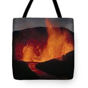 Volcanic Eruption, Spatter Cone Tote Bag