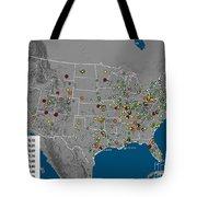 Vulcan Co2 Maps Tote Bag by Nasa
