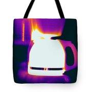 Warming Coffee Machine Tote Bag