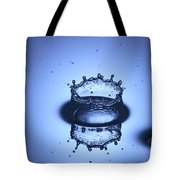 Water Drop Splashes Tote Bag