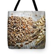 Wheat Ears And Grain Tote Bag